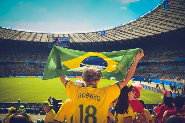 IberCup Brazil - player with the brazilian flag - Road to Sport