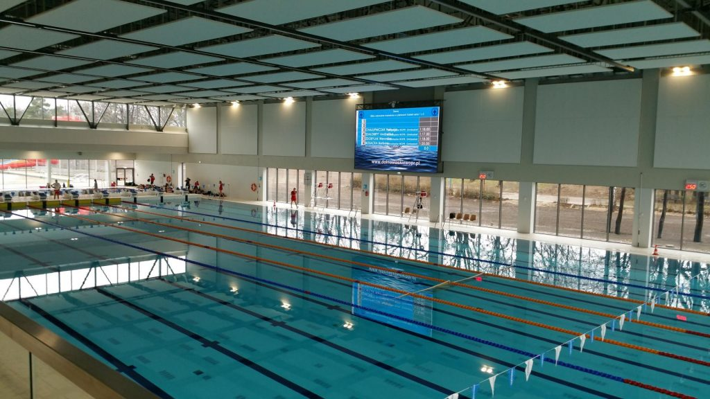 Swimming camps Wrocław - photo of swimming pool - Road to Sport