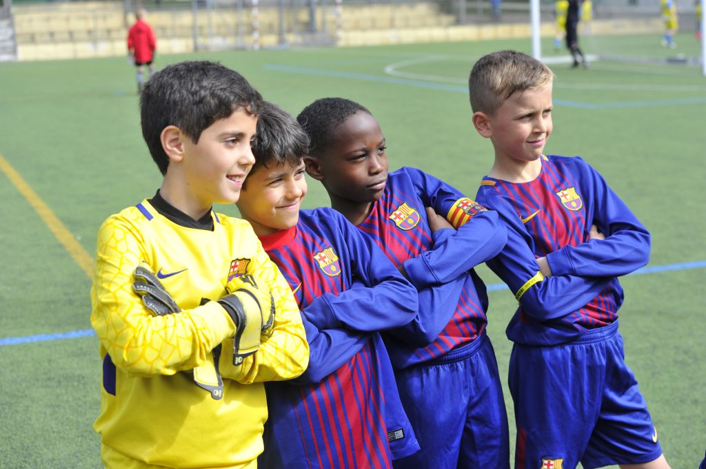 IberCup Cascais - Barcelona players - Road to Sport
