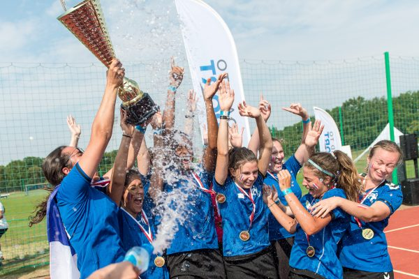 Procter and Gamble World Cup - celebrating participants