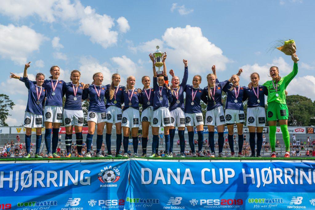 Dana Cup - winning girls - Road to Sport
