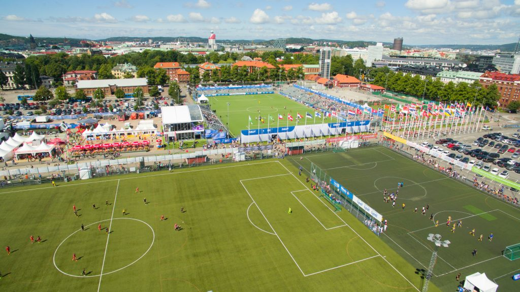 Gothia Cup - grounds - birdseye - Road to Sport