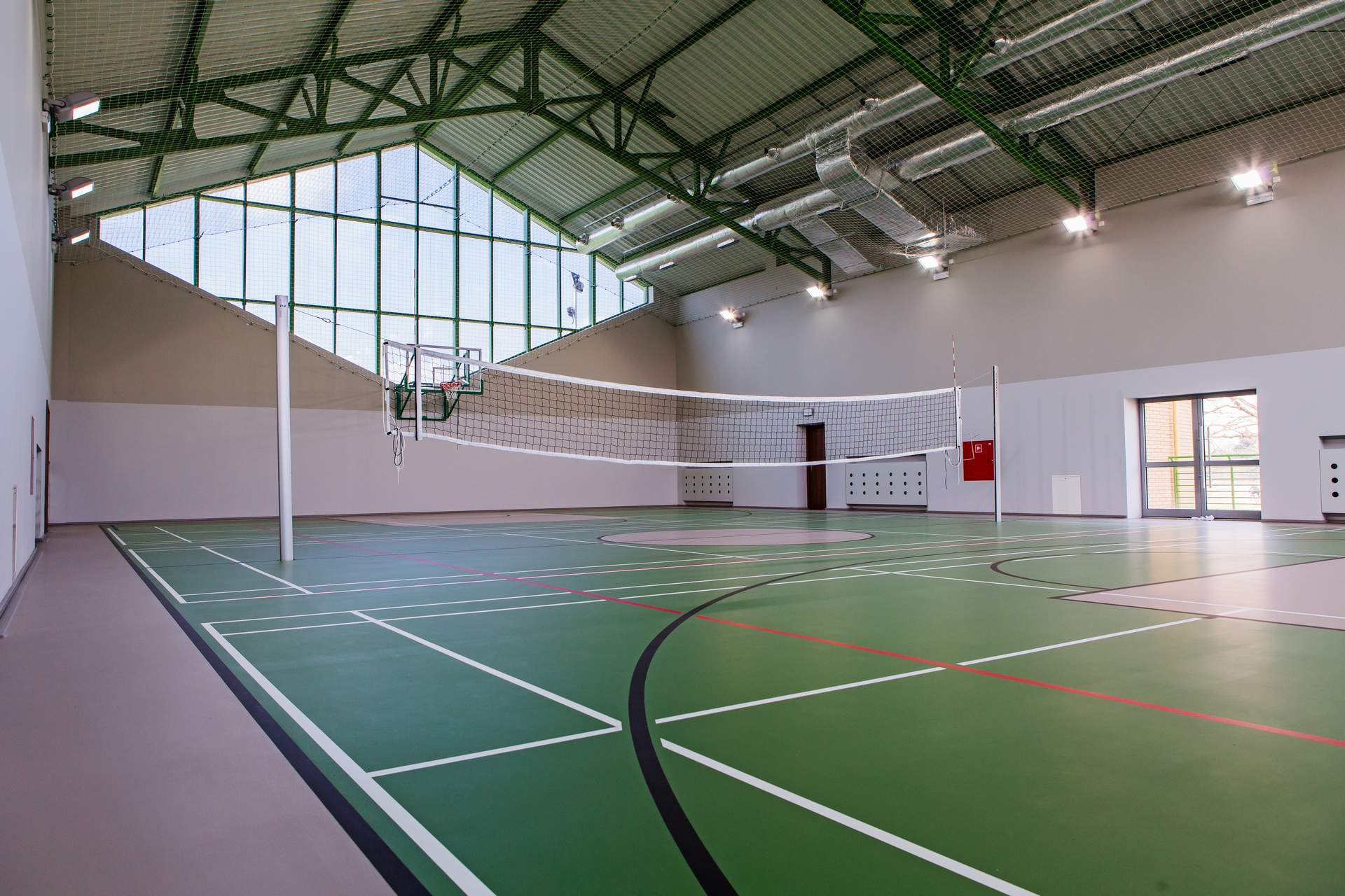 Sports camps Wroclaw - sports hall - Road to Sport