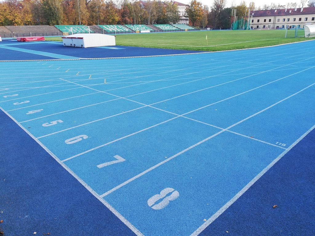 Sports camps Cracow - Wawel Sports Center - athletics track