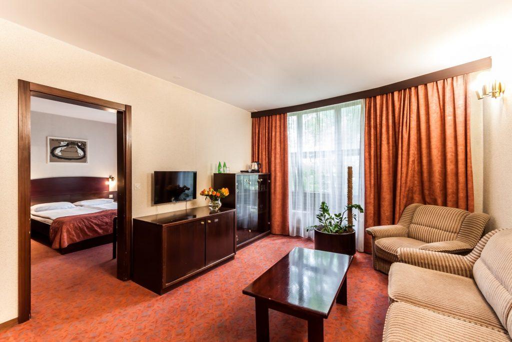 Wawel Sport Center - pokój hotelowy