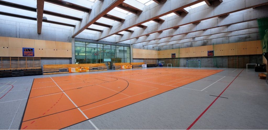 Sports camps Cracow - sports hall - Road to Sport