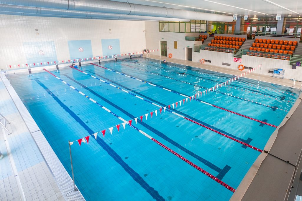 Cayaking camps Cracow - hotel pool - Road to Sport