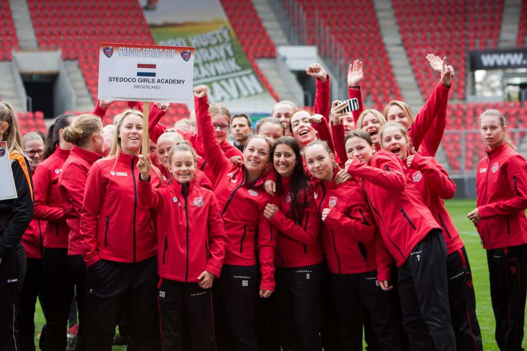 Prague Cup - Stedoco Girls Academy - Road to Sport