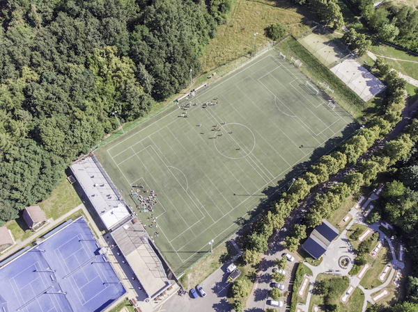 Football camps Prague - football ground Sance