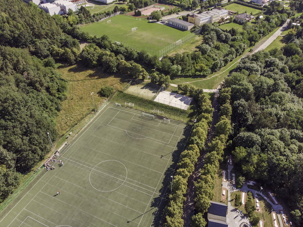 Football camps Prague - football patch Sance