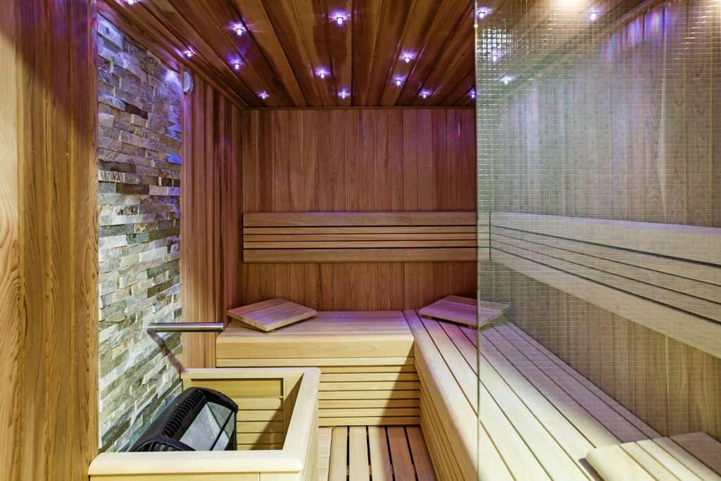 Academic Sports Center - sauna