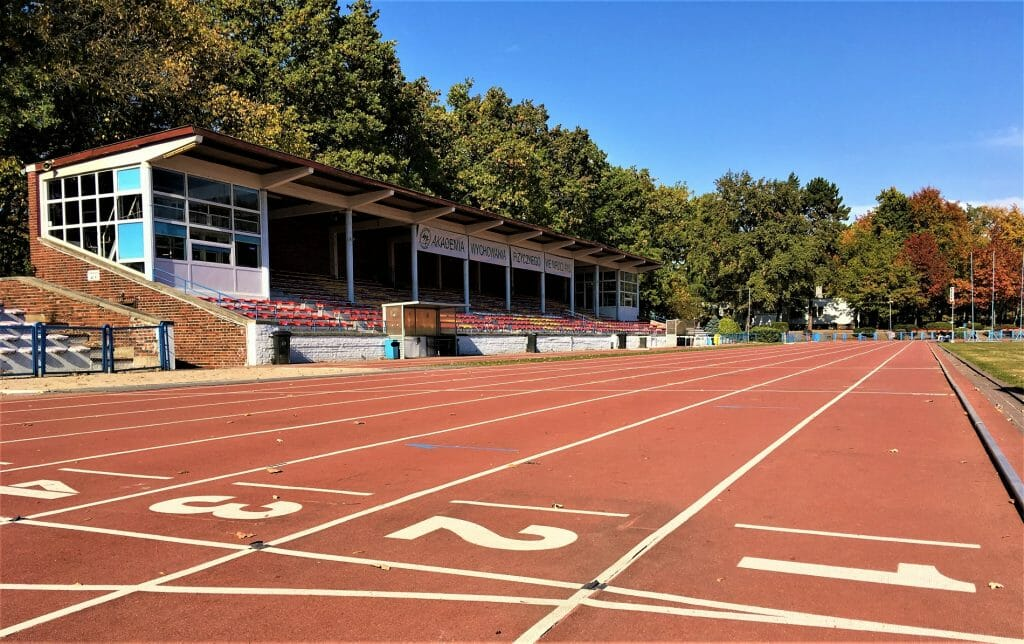 Academic Sports Center - athletics track