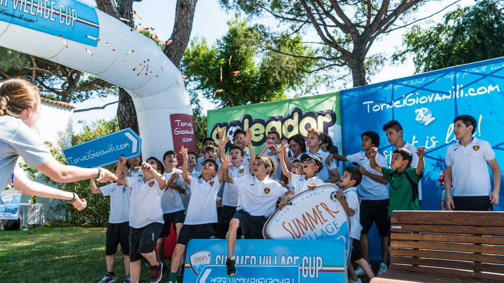 Summer Village Cup - young players - Road to Sport