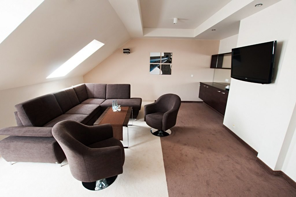 Academic Sports Center - living room
