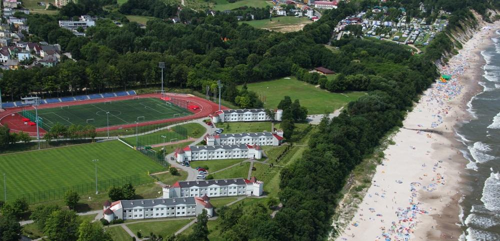 Sports camps Wladyslawowo - Sports Park birdseye - Road to Sport
