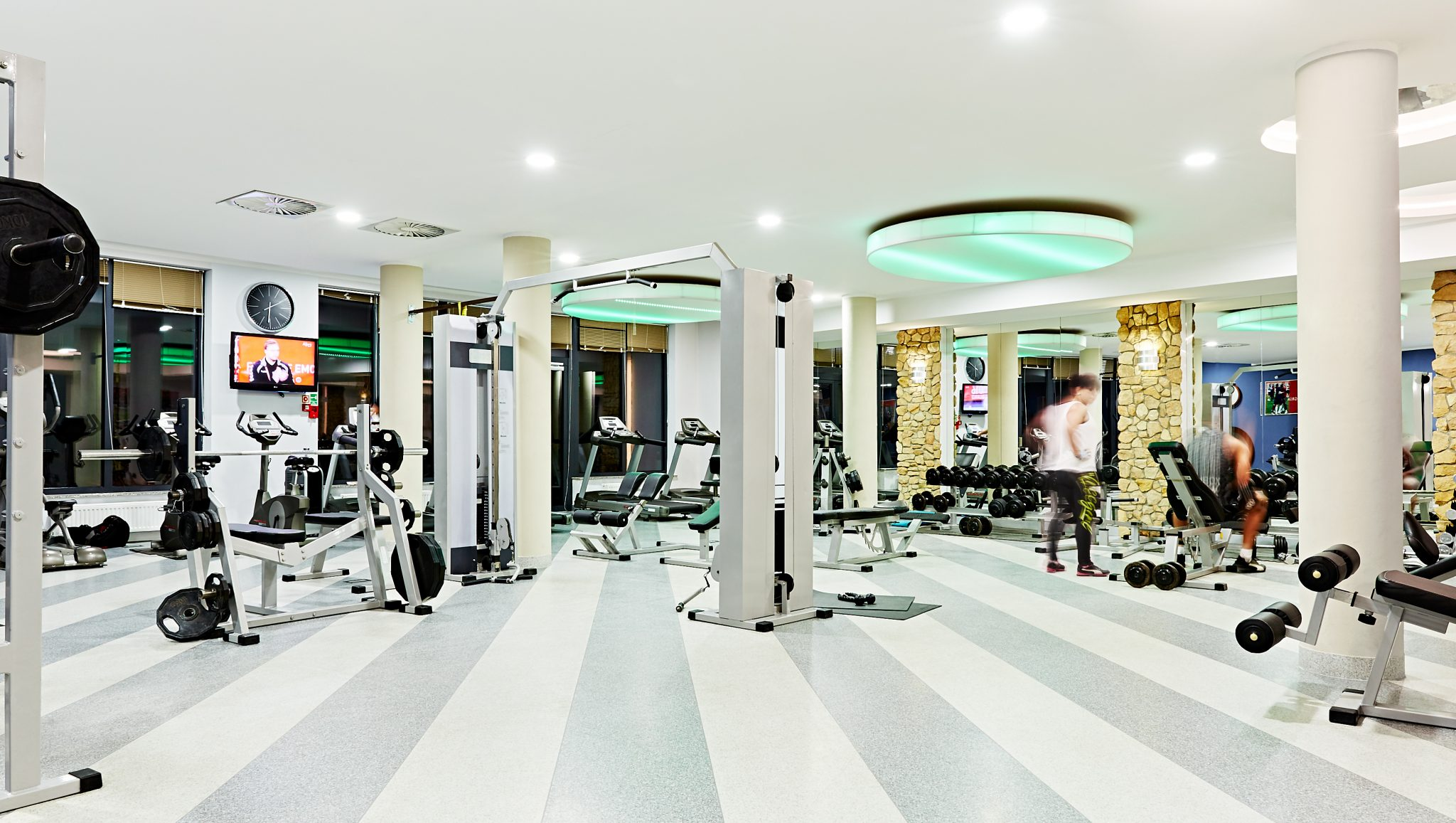 Pro football camps - Hotel Mistral gym - Road to Sport