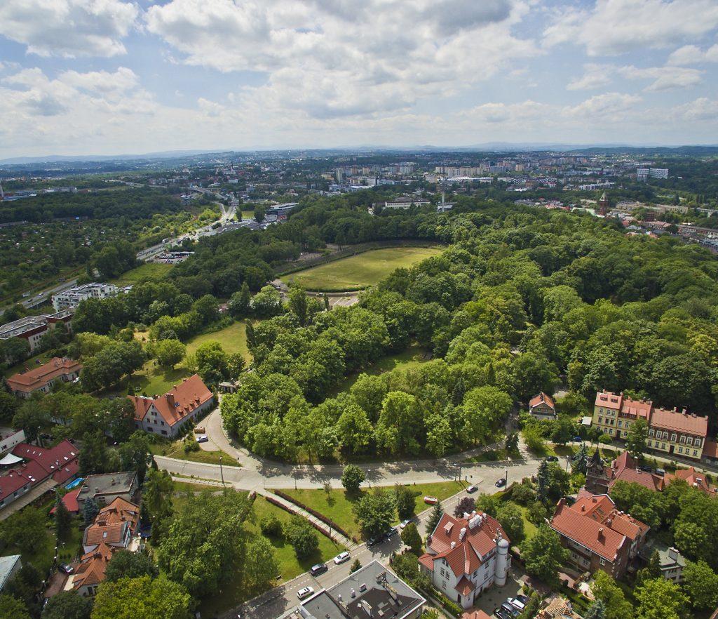 Football camps Cracow - birdseye