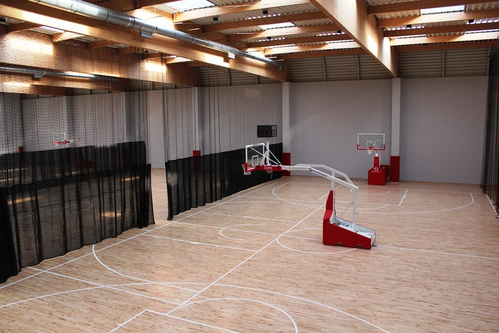 Basketball camps Wroclaw - sports hall