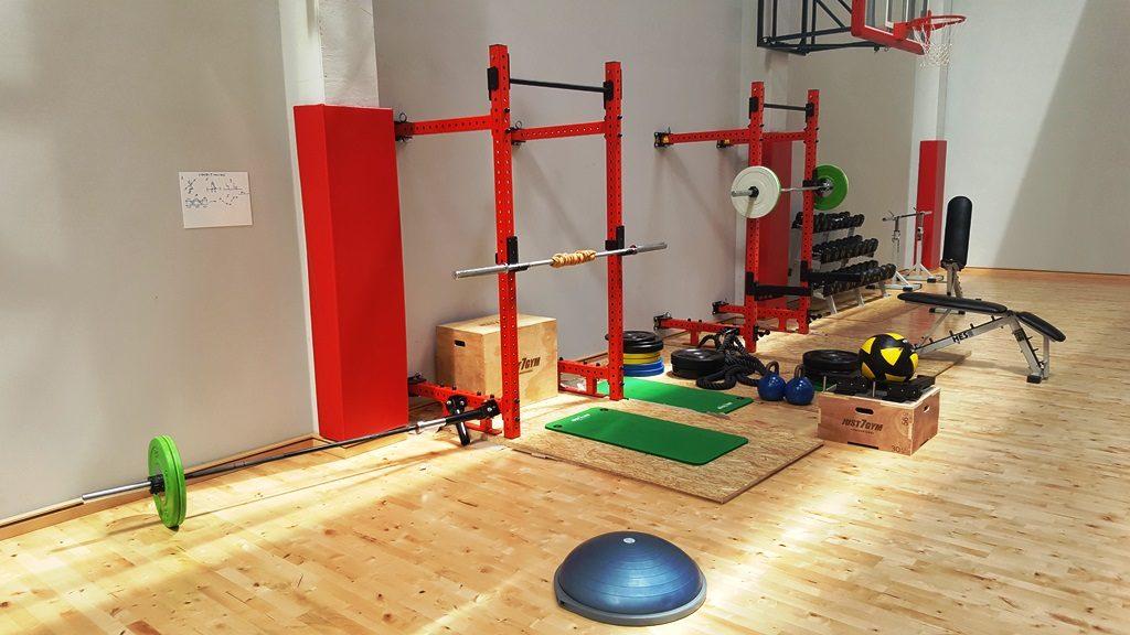Basketball camps Wroclaw - gym