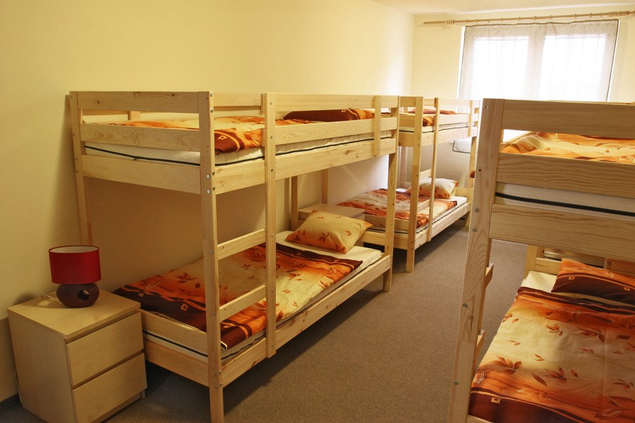 Football camps Cracow - hostel room