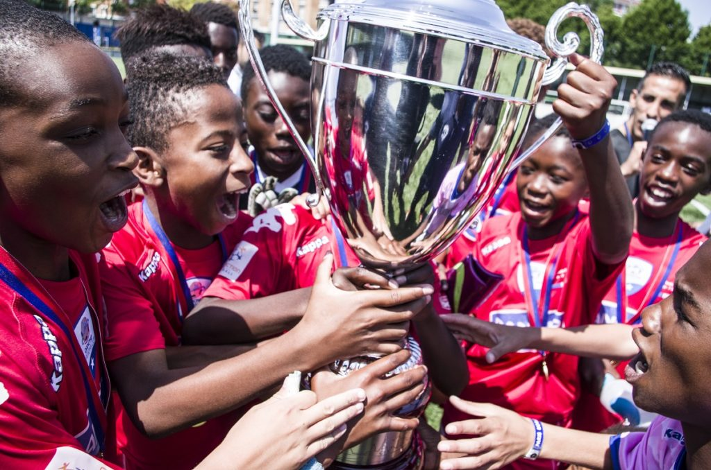 Paris World Games - winners with the cup