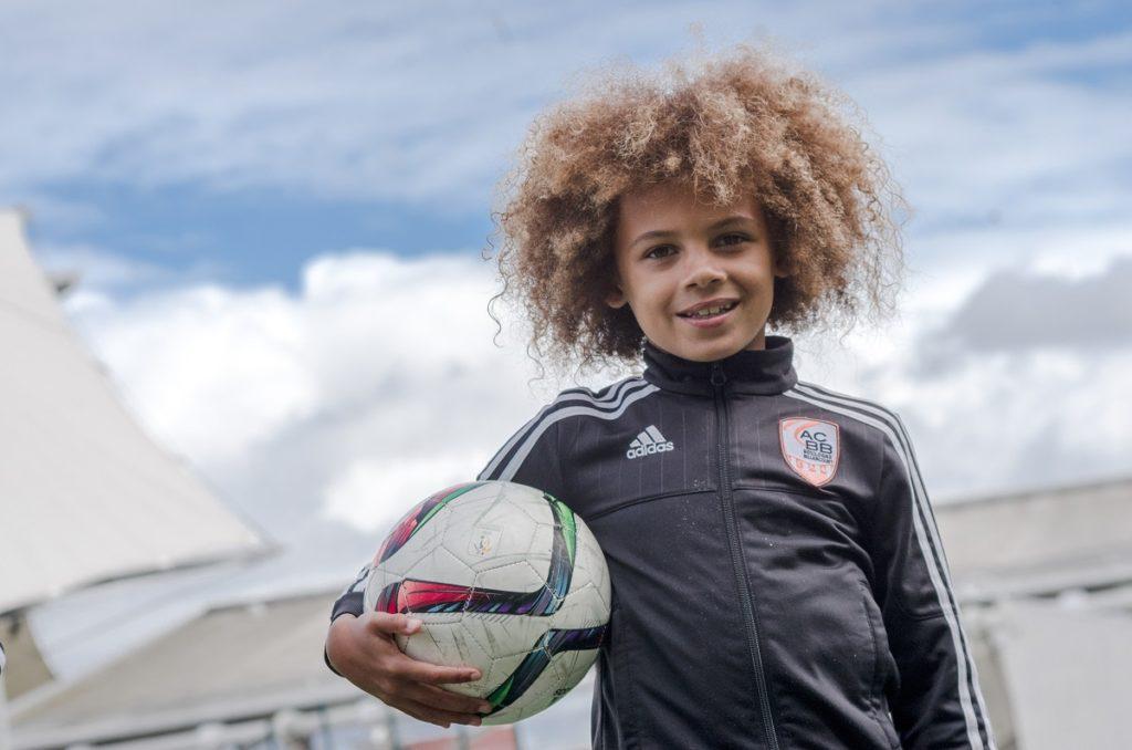 Paris World Games - a boy with ball