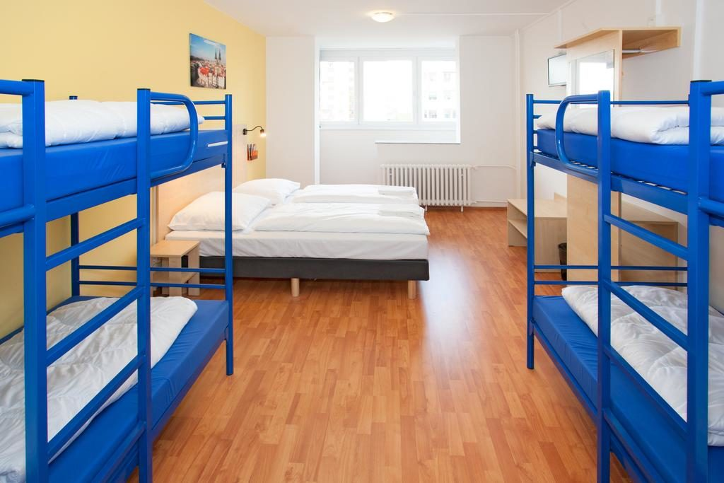 Football camps Prague - bunk beds