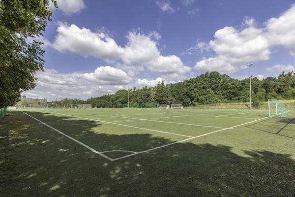 Football camps Prague - football ground NaSancich